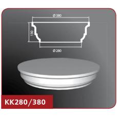 Полуколонна капитель КК280/380